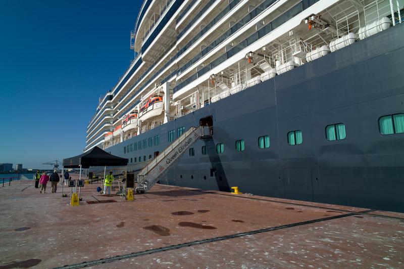 Schiffsdaten der Queen Elizabeth