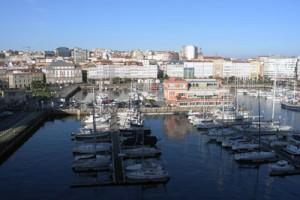 La Coruna Hafen