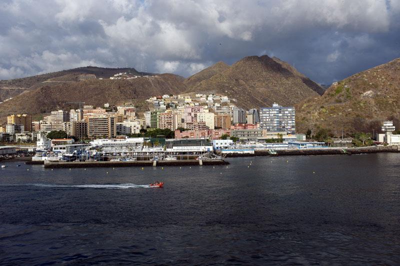 Hafen von Santa Cruz Teneriffa
