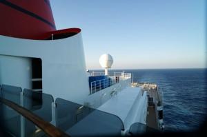 Kreuzfahrt Tag auf See